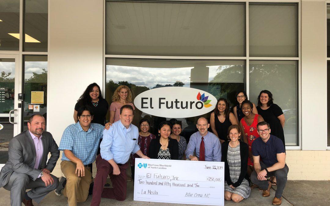 Blue Cross NC: Investment to expand La Mesita Program To Fund More Latino Behavioral Health Care